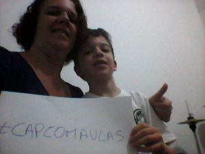 #capcomaulas_selfie_d